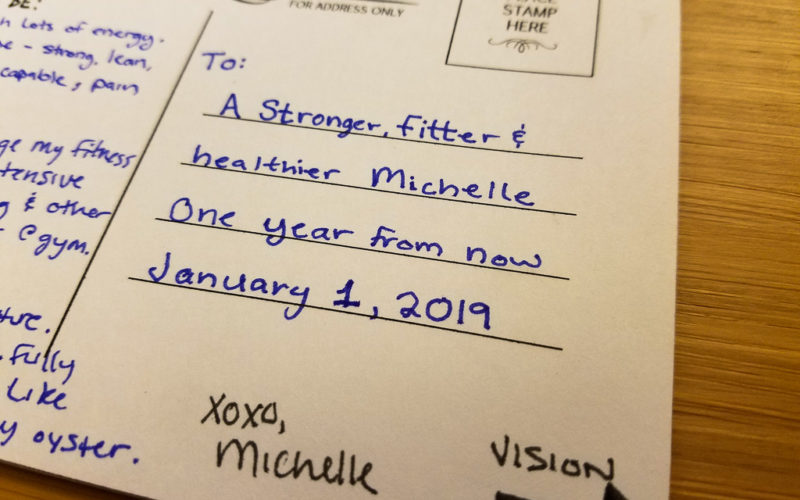 Destination Postcard and Fitness Goals for 2018